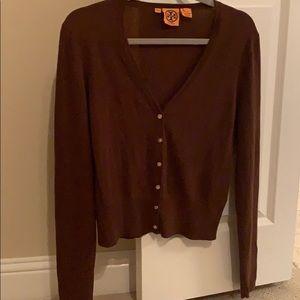 Brown Tory Burch Sweater
